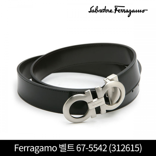 단독 최초가!! Salvatore Ferragamo 살바토레 페라가모 벨트 67-5542 312615 NERO