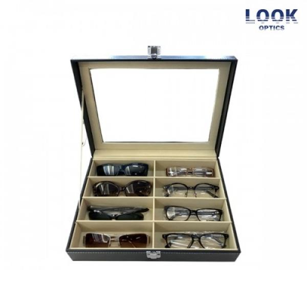 [룩옵틱스] 안경+선글라스 8개 랜덤박스 (안경4개 + 선글라스4개 + 8종 안경/선글라스 보관함)_리씽크팀