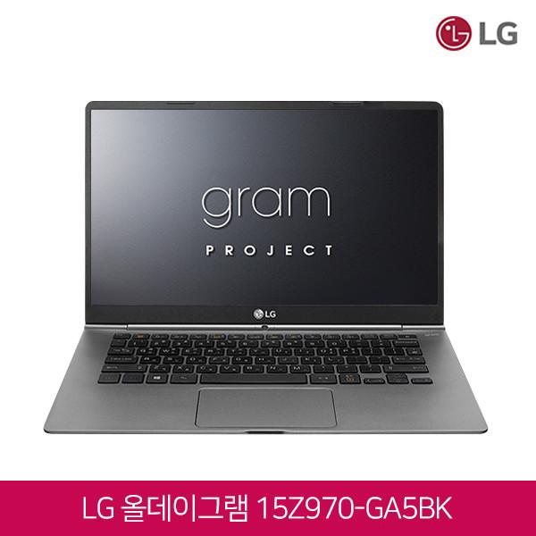 7세대 코어i5 LG 올데이그램 15Z970-GA5BK (코어i5-7200/램8G/SSD256G/인텔HD620/15.6인치FHD 1920x1080/윈도우10)