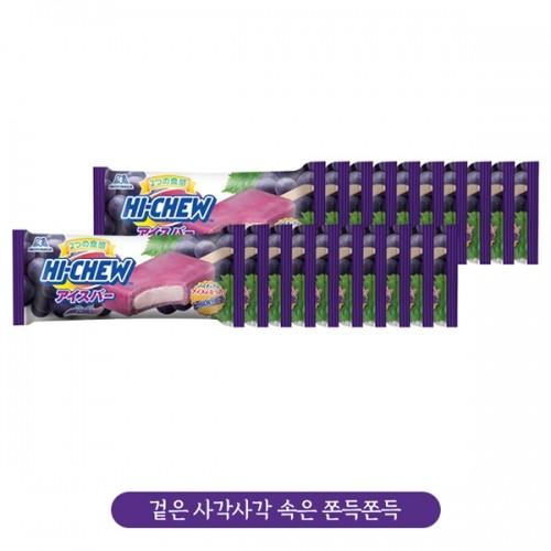 [한박스] 하이츄포도 아이스 108ml*24개입