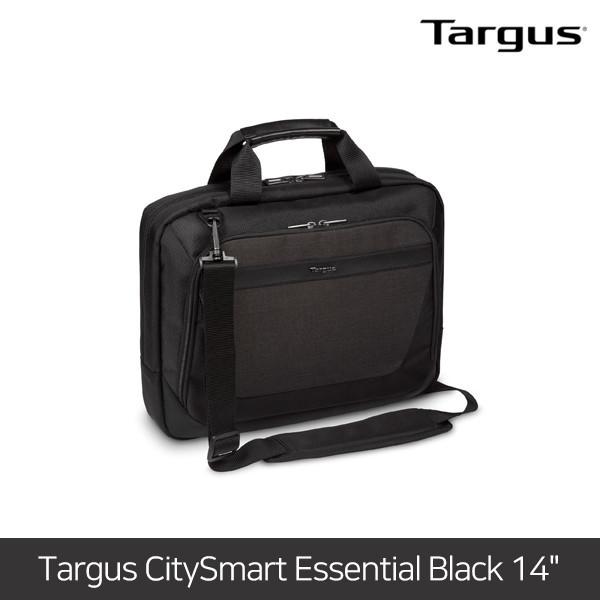 [타임세일~09/19까지]  타거스 노트북가방 CitySmart Essential Black 14