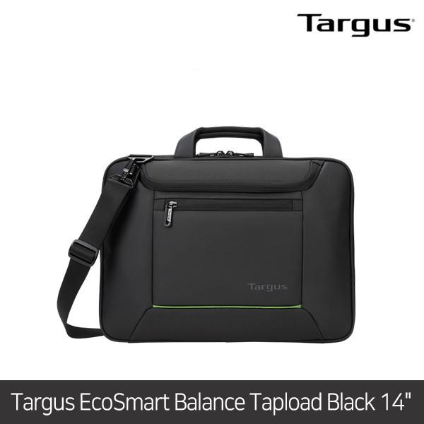 [타임세일~09/19까지]  타거스 노트북가방 EcoSmart Balance Tapload Black 14