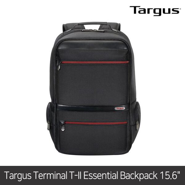 타거스 백팩 Targus Terminal T-II Essential Backpack Black 15.6