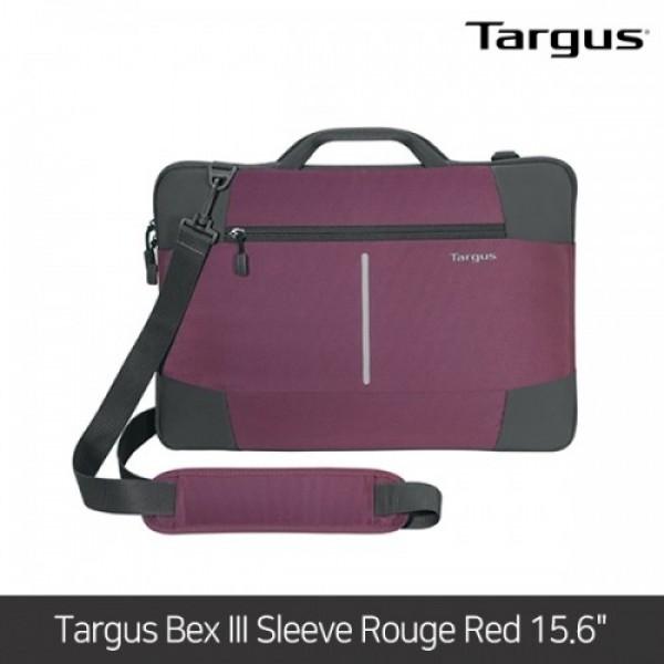 타거스 노트북가방 Targus Bex III Sleeve Rouge Red 15.6