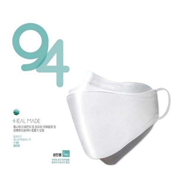 [1+4] 힐메이드 KF94 마스크 5매 패키지!! (피부자극 테스트 통과인증)_리씽크팀