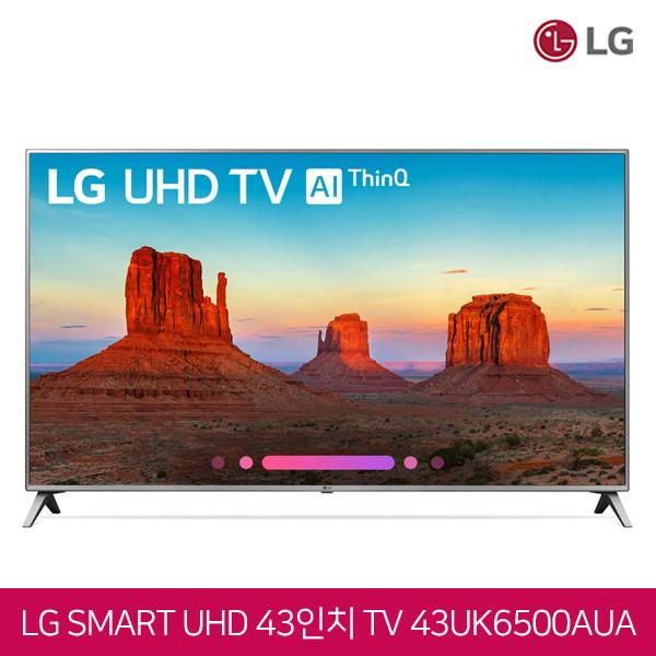 2019년모델 LG전자 43인치 4K UHD HDR 스마트TV 43UK6500AUA
