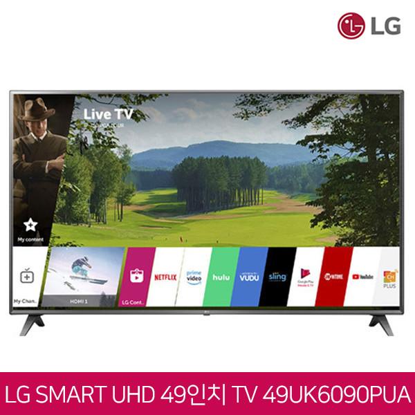LG전자 49인치 4K UHD HDR 스마트TV 49UK6090