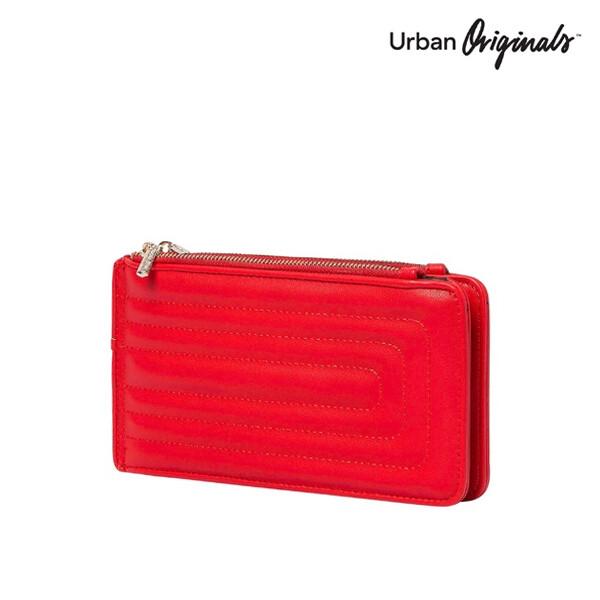[블랙딜~11/30까지]  Urban Originals 어반 오리지널 Imagine Wallet 장지갑 (Red)