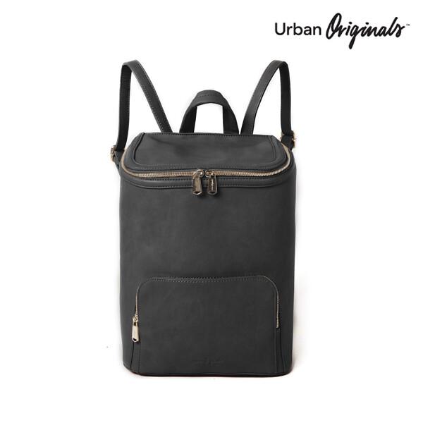 Urban Originals 어반 오리지널 West Vegan Leather Backpack 백팩 (Black)