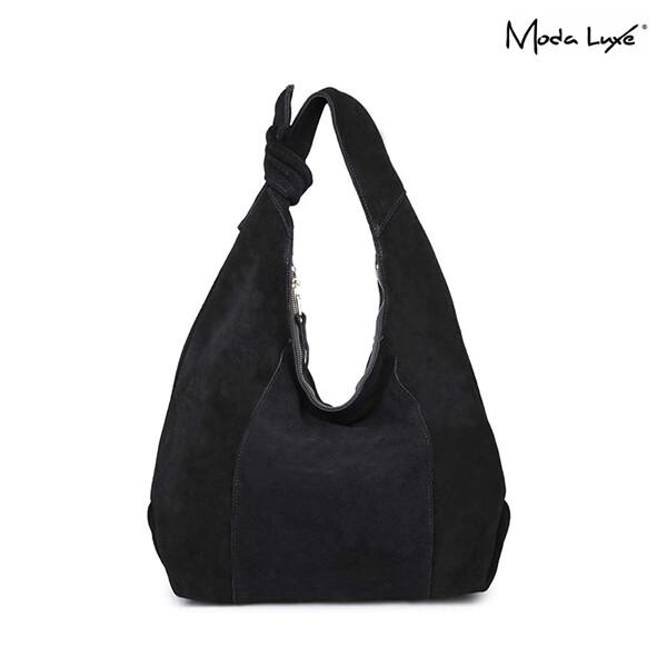 Moda Luxe 모다 럭스 Emma Women Hobo Day Bag 토트백 (black)