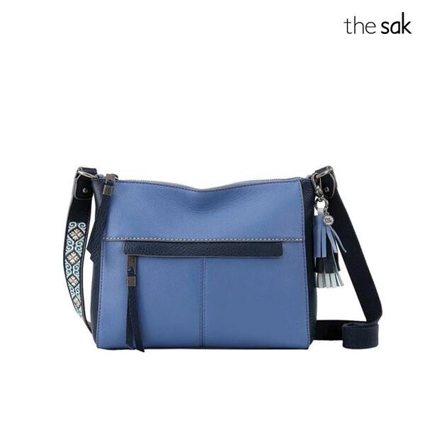 The Sak 더삭 Alameda Crossbody Bag Bell Block 크로스백 (Blue)