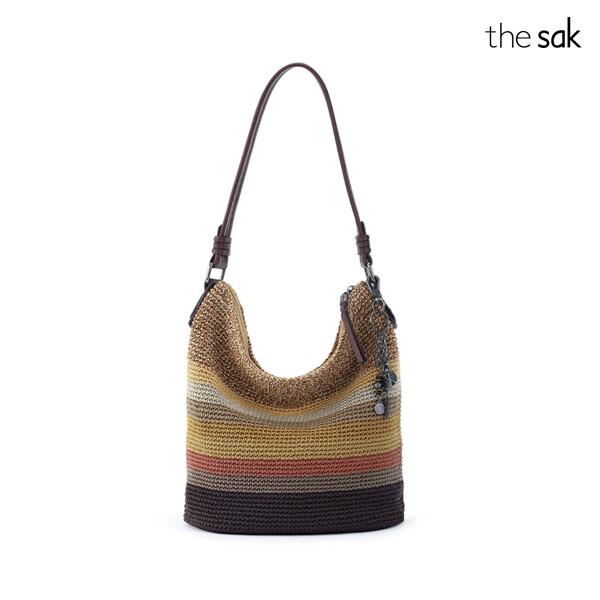 The Sak 더삭 Sequoia Crochet Hobo 숄더백