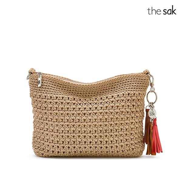 The Sak 더삭 Casual Classic 3 in 1 Crochet Crossbody Bag 크로스백