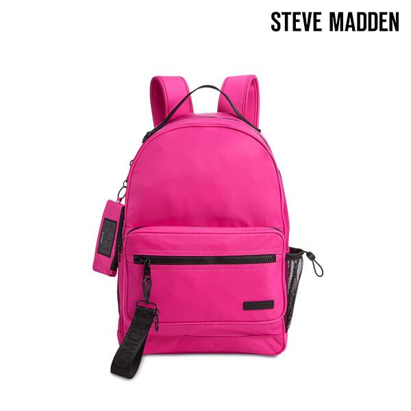[블랙딜~11/30까지]  Steve Madden 스티브 매든 Play Backpack With Id Case 백팩 (Pink)