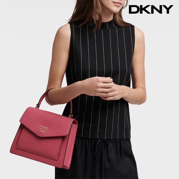 DKNY 디케이엔와이 Whitney Top-Handle Satchel Bag 토트백 (Pink)