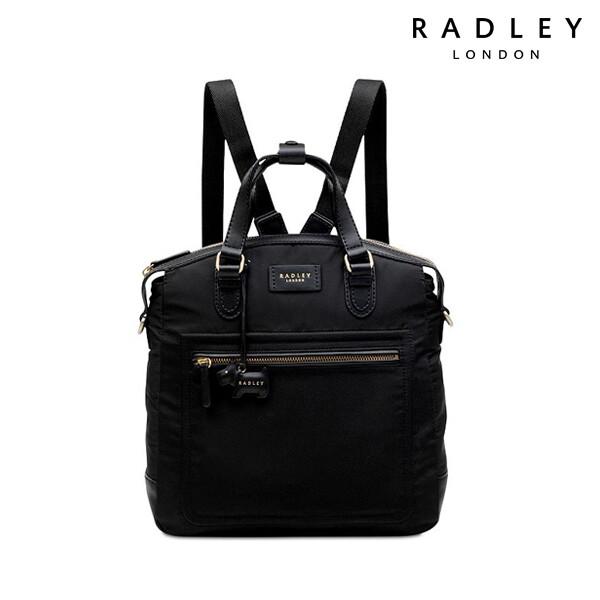 Radley 래들리 Spring Park Radley Medium Domed Backpack Black 백팩