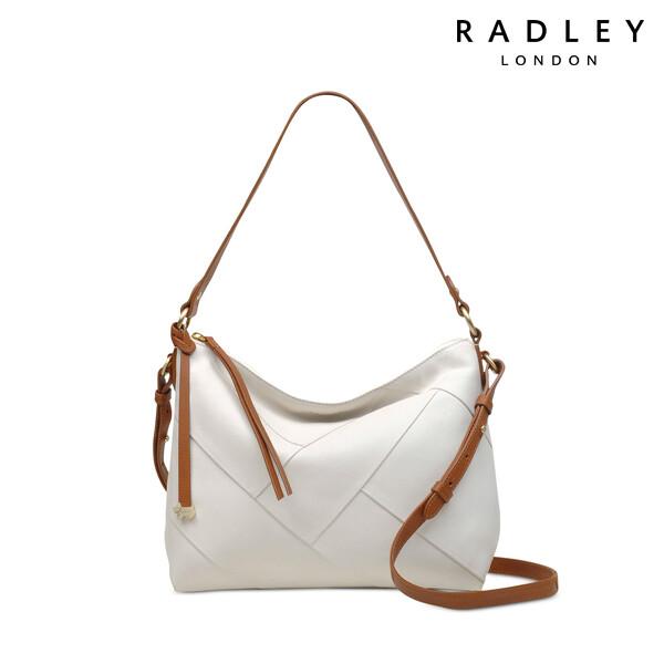 Radley 래들리 Oxleas Colorblock Leather Zip-Top Shoulder Bag 토트백