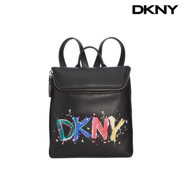 DKNY 디케이엔와이 Tilly Logo Paint small Backpack 백팩