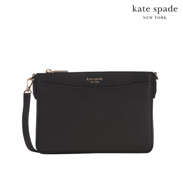 Kate Spade 케이트 스페이드 Margaux Medium Crossbody 크로스백 (Black)