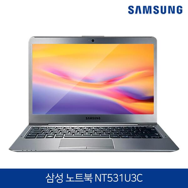 삼성노트북5 울트라 윈도우10 무료행사! NT531U3C (코어i3-3217U/램4G/SSD128G/HD4000/무선랜/웹캠내장/13.3LED 1366*768)
