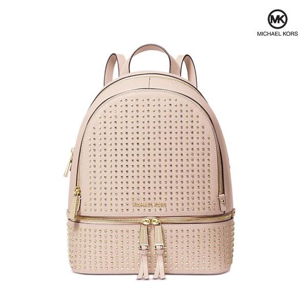 Michael Kors 마이클 코어스 Rhea Zip Medium Backpack 백팩 (Soft Pink Gold)