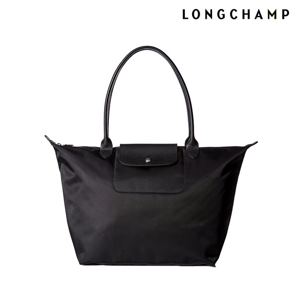 LONGCHAMP 롱샴 Le Pliage neo Large tote Black 토트백