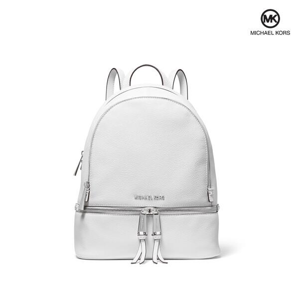 Michael Kors 마이클 코어스 Rhea Zip Small Backpack 백팩 (White)