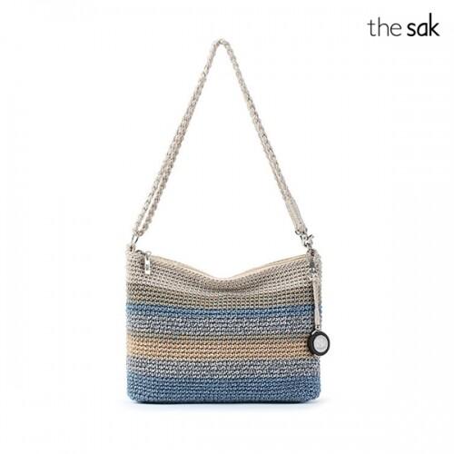 the sak 더삭 Blue Harmony Stripe Casual Classics 3-in-1 Demi Crossbody Bag 숄더백