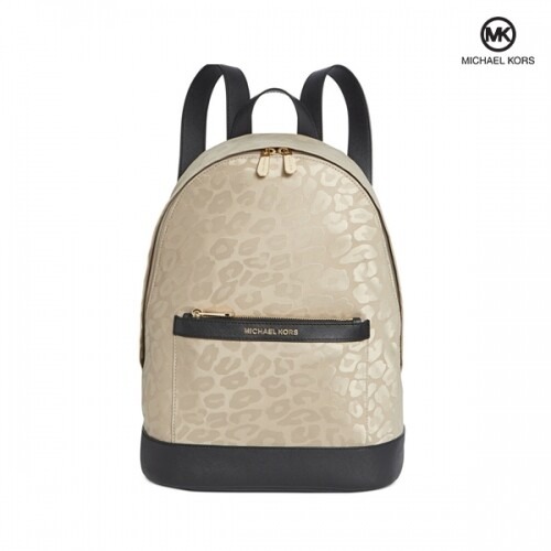 Michael Kors 마이클코어스 Morgan Leopard Printed Nylon Backpack 백팩