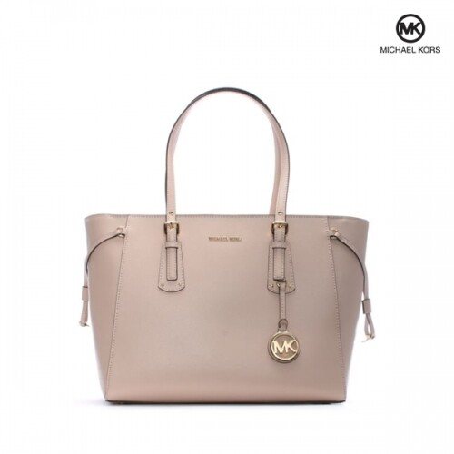 Michael Kors 마이클코어스 Voyager Soft Pink Saffiano Leather Tote Bag 토트백