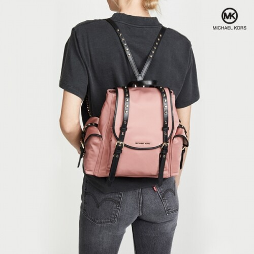Michael Kors 마이클코어스 Small Flap Pink Backpack 백팩