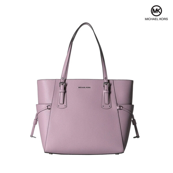 Michael Kors 마이클코어스 Voyager East West Leather Tote Pale Lilac 토트백