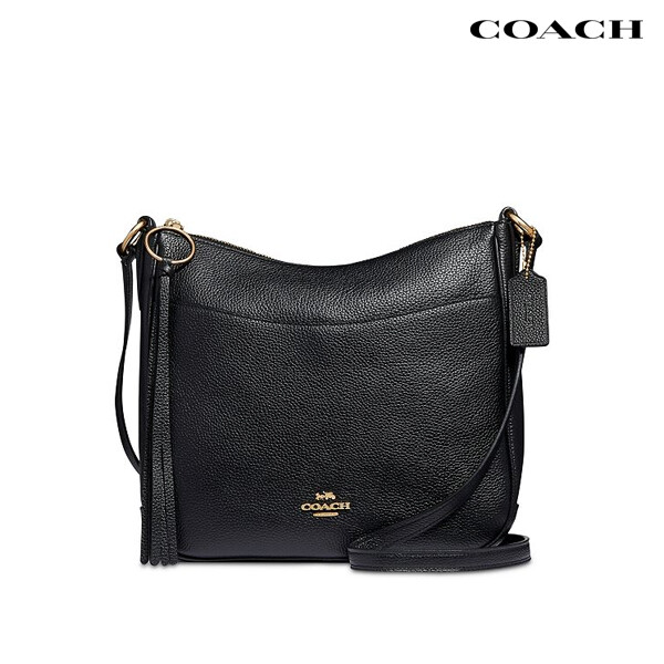 Coach 코치 Chaise Polished Pebble Leather Crossbody 크로스백