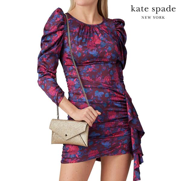 Kate Spade 케이트스페이드 New York Burgess Court Envelope Chain Clutch 클러치백