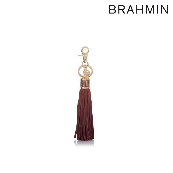 [타임세일~09/21까지]  BRAHMIN 브라민 Melbourne Collection Tassel Key Ring in Sunflower 테슬 키링