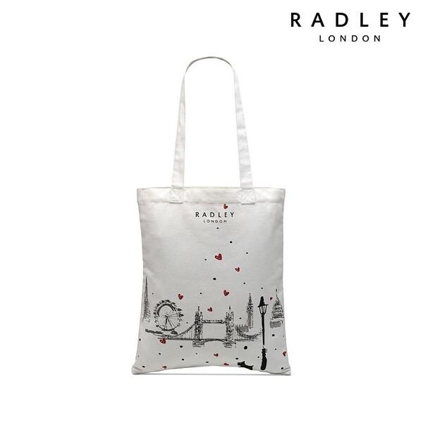 RADLEY 래들리 Canvas Medium Tote Bag 토트백