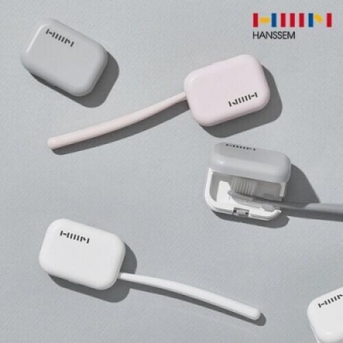 한샘 휴대용 충전식 헤드형 칫솔살균기 4.0 그레이