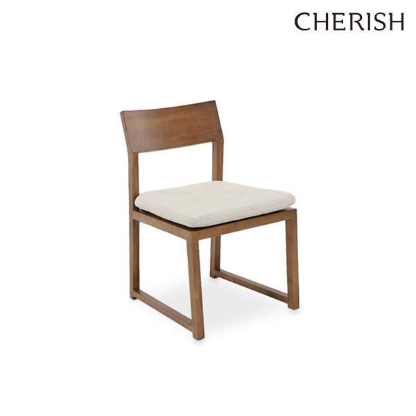 체리쉬 라포레 2 오리진 식탁의자 월넛(패브릭방석)