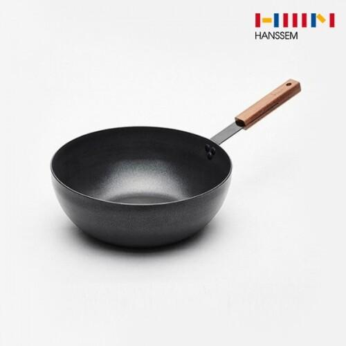 한샘 키친바흐 블랙심플 IH 궁중팬 28cm