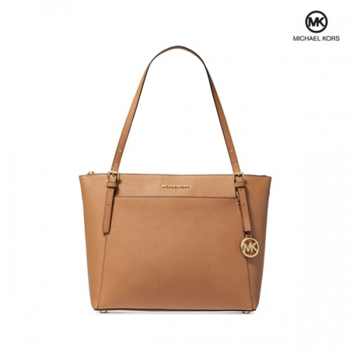 MICHAEL KORS 마이클 코어스 Voyager East West Leather 토트백
