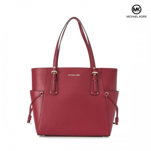 Michael Kors 마이클 코어스 Voyager East West Tote 토트백 (Bright Red)