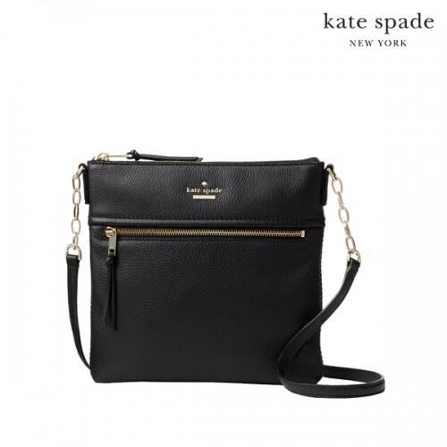 Kate Spade 케이트 스페이드 New York Jackson Street Melisse Bag 크로스백 (Black)