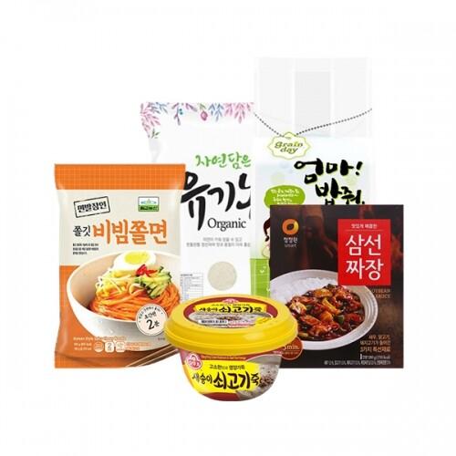 랜덤박스!! 마트입점 프리미엄 쌀/라면/즉석식품 최대90%할인 (유통기한 :20/09/17까지)