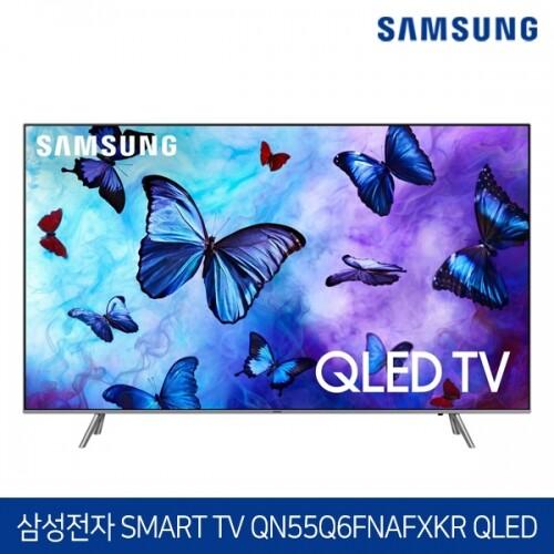 삼성전자 55인치 4K UHD QLED 스마트 TV QN55Q6FNAFXKR 수도권 무료배송 설치!