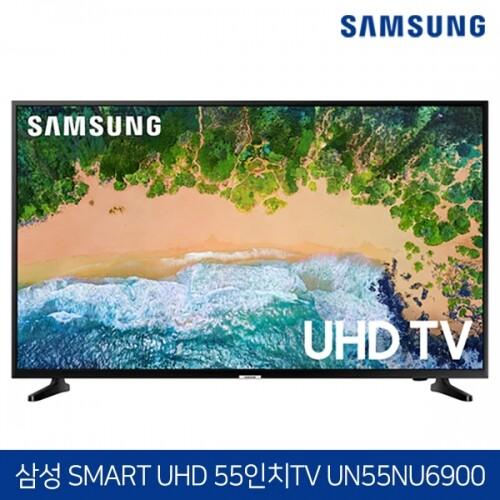 삼성전자 55인치 4K HDR UHD 스마트 TV UN55NU6900 수도권 무료배송 설치!