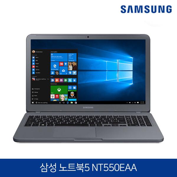 코어i7 최신형 삼성노트북5 새상품 NT550EAA (코어i7-8550U/램8G/SSD128G + HDD1TB/인텔UHD620/15.6인치FHD 1920x1080/윈도우10)