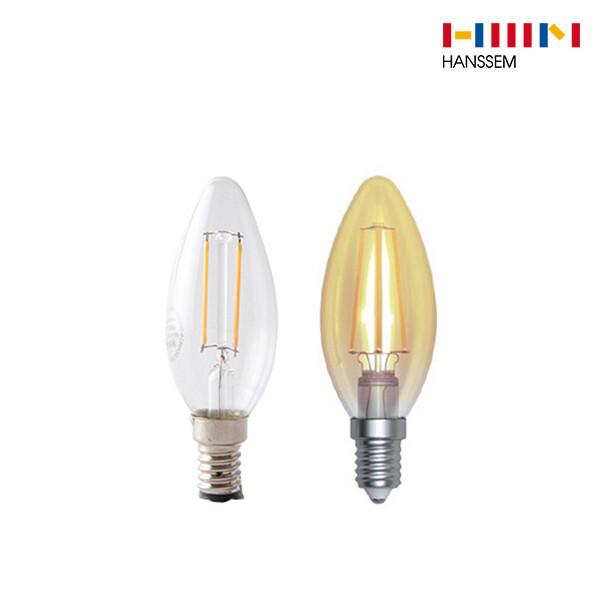 한샘 NEW 올빔 LED 4W E14(전구색상랜덤)