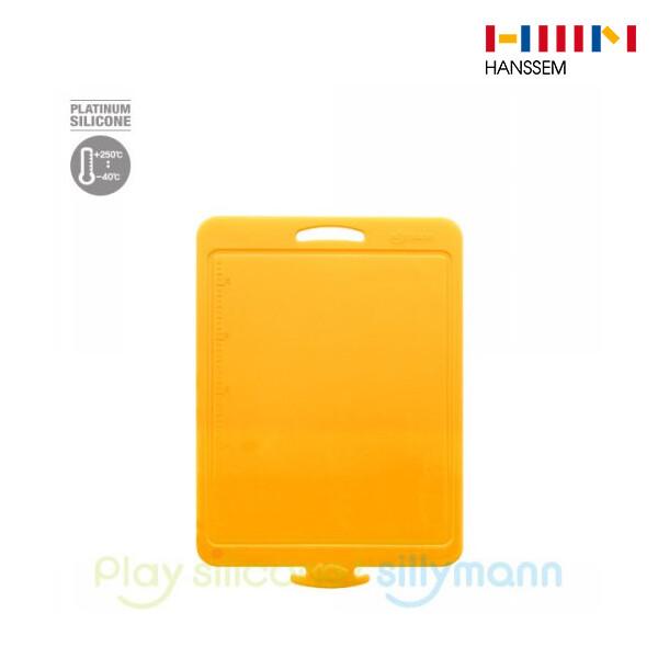 한샘 실리만 클립형 도마 소 투-노랑 WSK300
