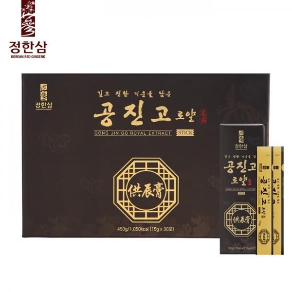 정한삼 공진고로얄스틱 15g x 30포(쇼핑백 포함)
