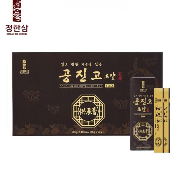정한삼 공진고로얄스틱 15g x 60포(쇼핑백 포함)